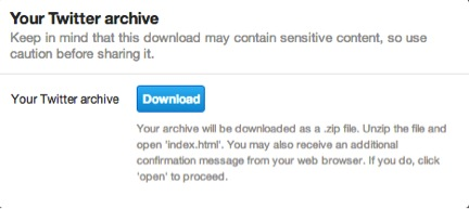 twitter's archive feature 2