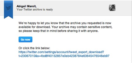 twitter's archive feature 3