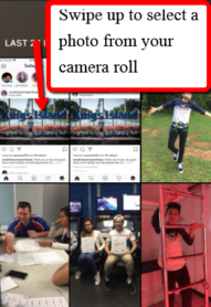 Instagram Stories Camera Roll