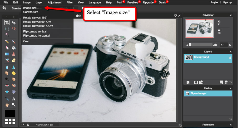 Image Size Resizing Images for WordPress